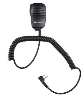 Micro-altavoz compacto compatible VERTEX / YAESU, conector 2 Pin acodado.