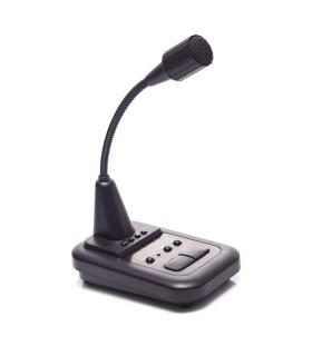 Desk microphone for HF/VHF/UHF  AV-508