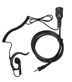 Micro-earphone x VERTEX/YAESU VX-7. Coil cord.