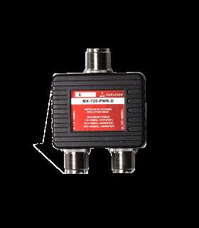 Duplexor 1.6-150 & 400-460MHz, sin cables
