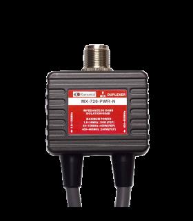 Duplexor 1.6-150 & 400-470MHz, con cables