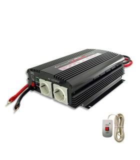 Inverter 1200W, 24V/220V + remote control
