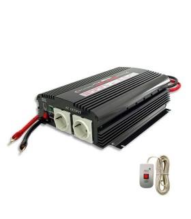 Inverter 1200W, 12V/220V + remote control