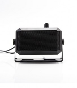 External speaker 5-7W + volume control (8Ohm)