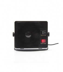 External speaker 5-7W + Noise Canc. filter + mute