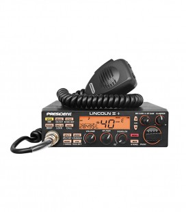 PRESIDENT CB mobile radio AM/FM/LSB/USB/CW, with ASC & VOX functiond