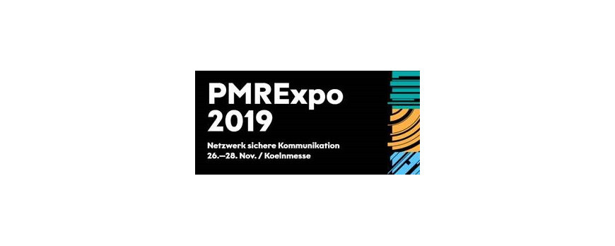 VISIT OUR STAND F-16 at PMRExpo 2019 !!